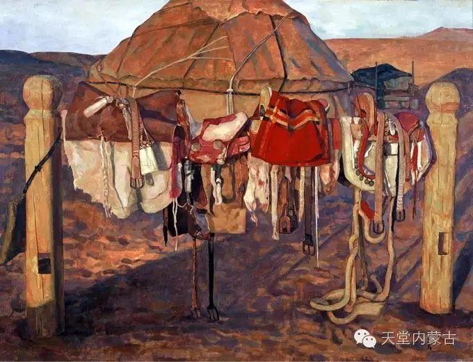 蒙古族青年画家柯西格巴图 第3张