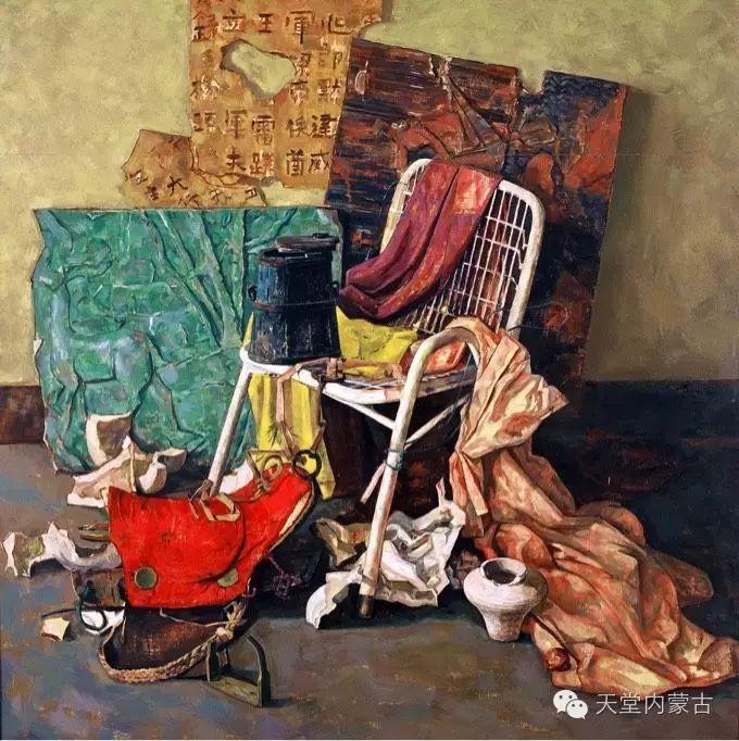 蒙古族青年画家柯西格巴图 第2张 蒙古族青年画家柯西格巴图 蒙古画廊