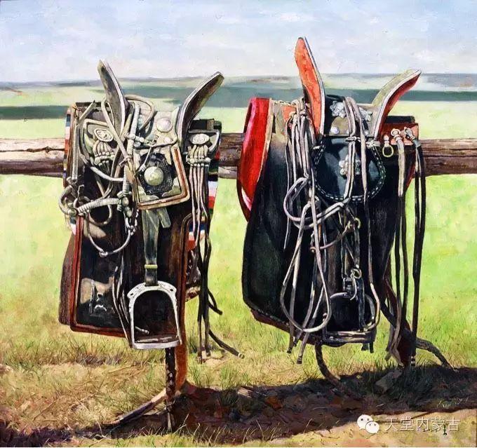 蒙古族青年画家柯西格巴图 第6张 蒙古族青年画家柯西格巴图 蒙古画廊