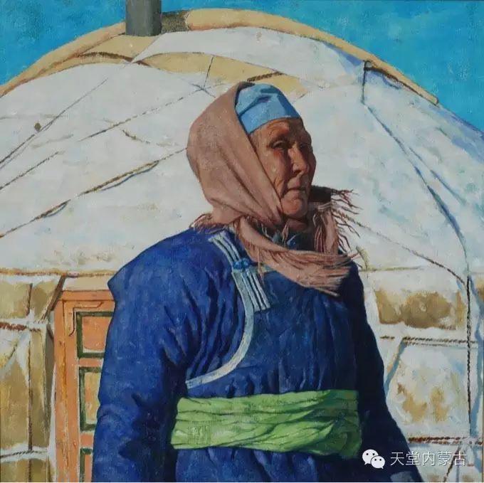 蒙古族青年画家柯西格巴图 第7张 蒙古族青年画家柯西格巴图 蒙古画廊
