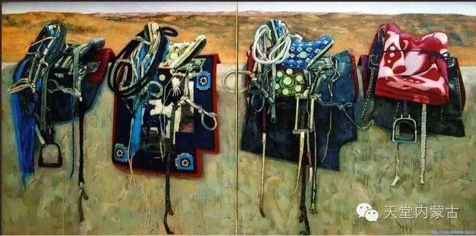 蒙古族青年画家柯西格巴图 第4张 蒙古族青年画家柯西格巴图 蒙古画廊