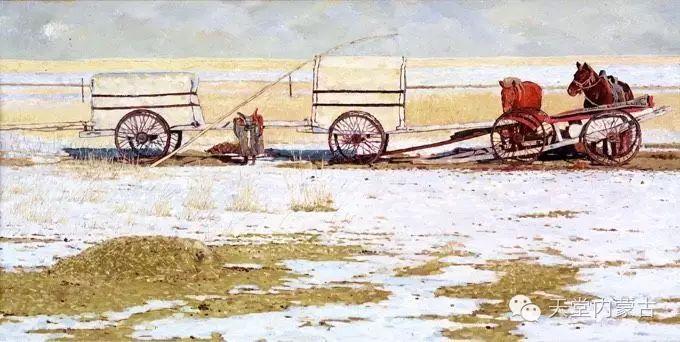 蒙古族青年画家柯西格巴图 第8张 蒙古族青年画家柯西格巴图 蒙古画廊