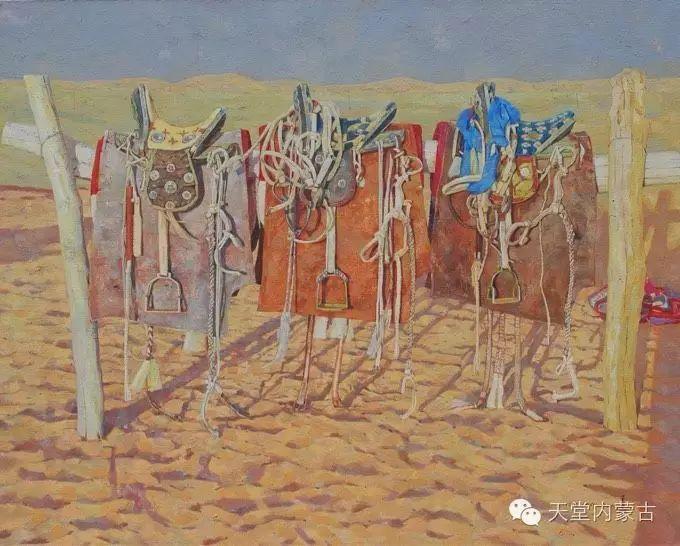 蒙古族青年画家柯西格巴图 第11张