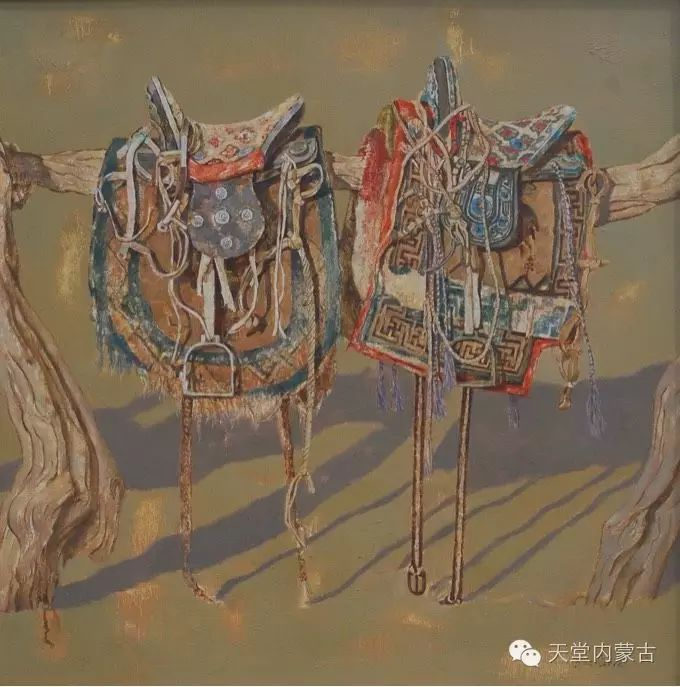 蒙古族青年画家柯西格巴图 第9张 蒙古族青年画家柯西格巴图 蒙古画廊