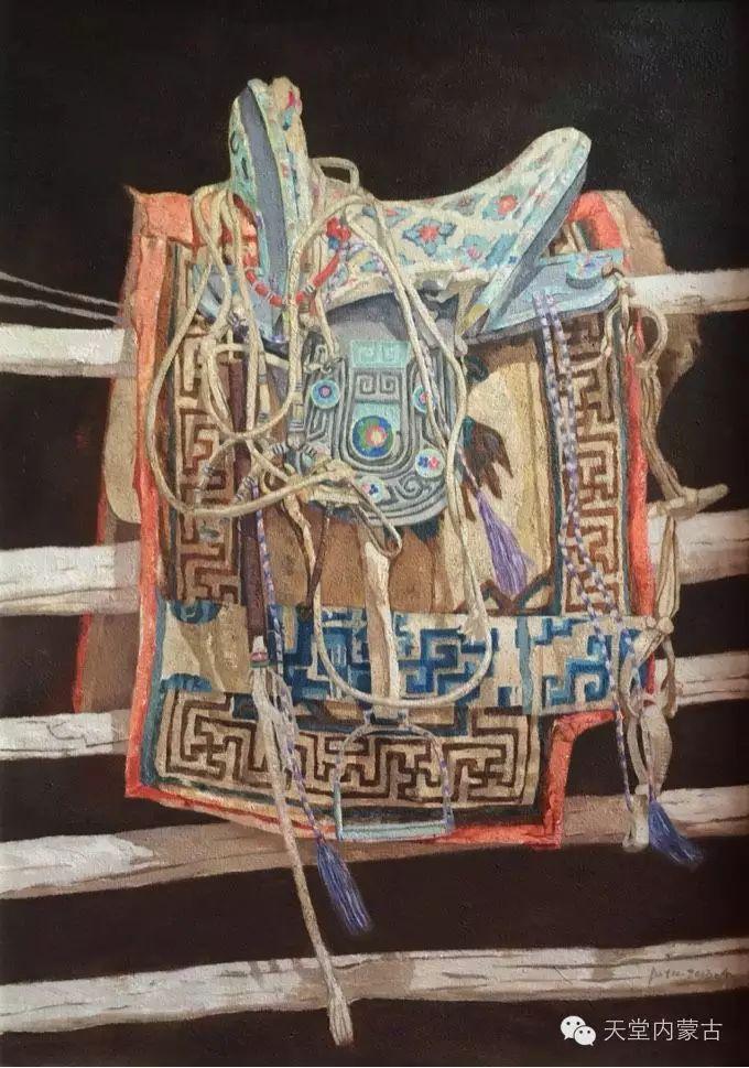 蒙古族青年画家柯西格巴图 第12张 蒙古族青年画家柯西格巴图 蒙古画廊