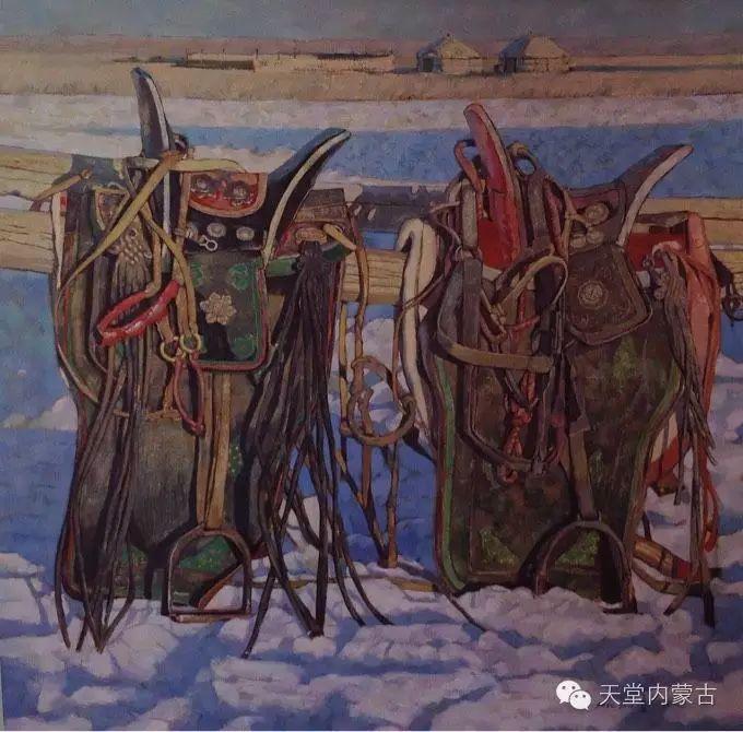 蒙古族青年画家柯西格巴图 第13张