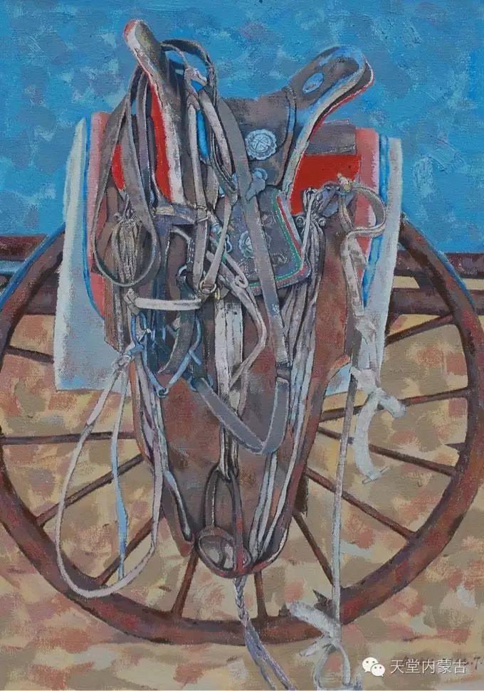 蒙古族青年画家柯西格巴图 第17张