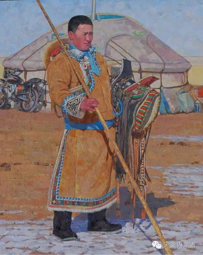 蒙古族青年画家柯西格巴图 第19张