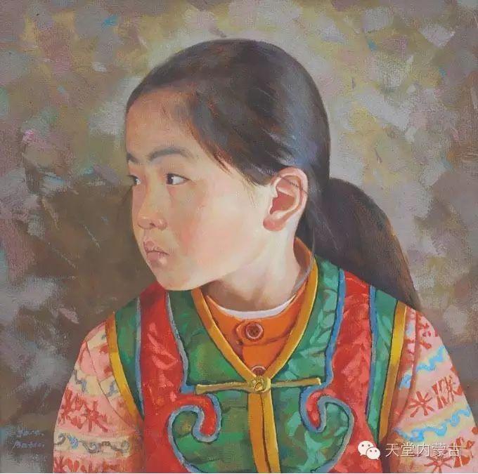 蒙古族青年画家柯西格巴图 第16张