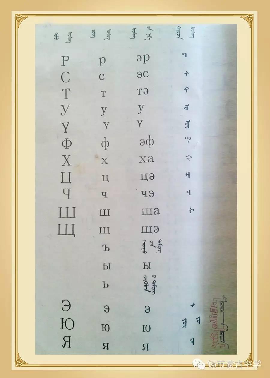 斯拉夫蒙文和维吾真蒙文对照表 第2张 斯拉夫蒙文和维吾真蒙文对照表 蒙古文库