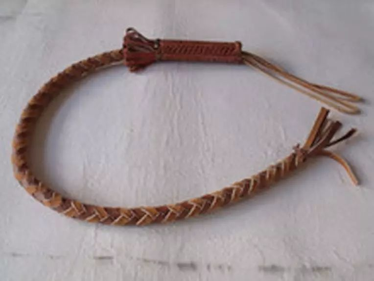 蒙古族制作马鞭的传统手艺 第11张