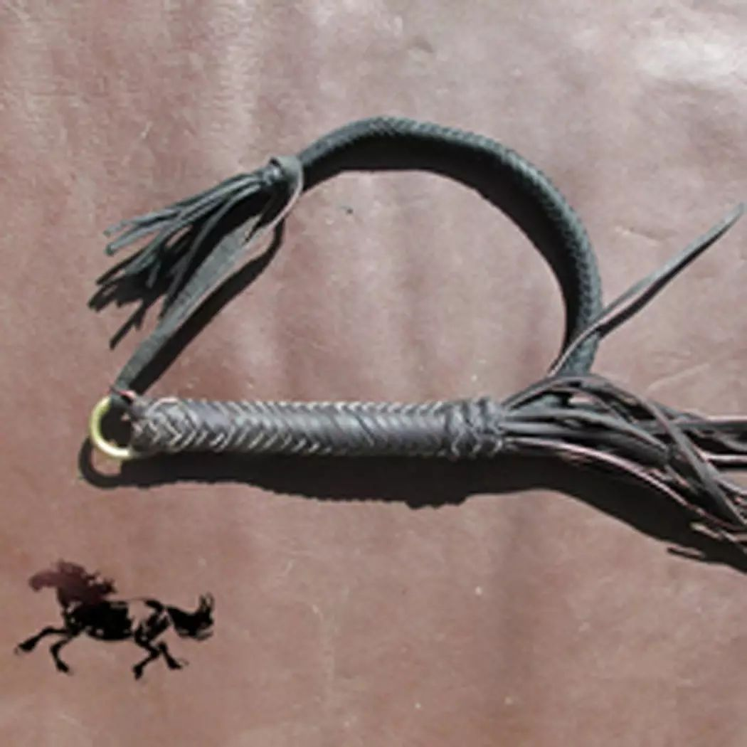 蒙古族制作马鞭的传统手艺 第15张