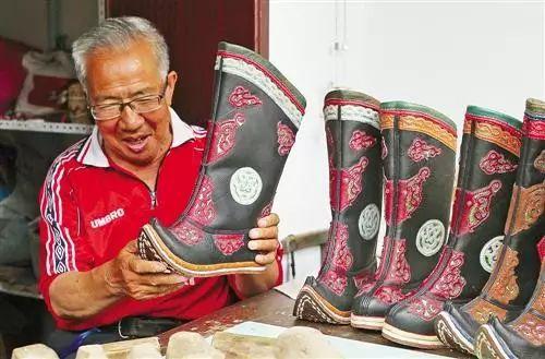 非遗丨蒙古族皮靴制作:传不下去的手艺 第3张