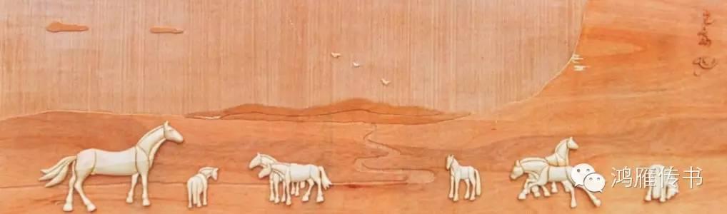 【蒙古人】乌拉特民间手工艺师达那巴拉木雕作品 第12张