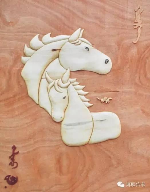 【蒙古人】乌拉特民间手工艺师达那巴拉木雕作品 第11张