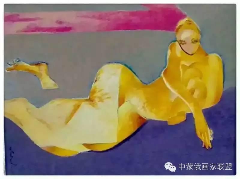 蒙古国油画大师-恩赫金、蒙赫金 第5张