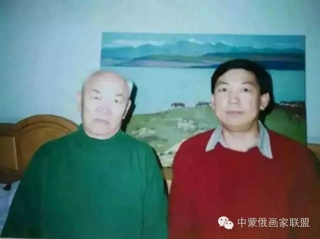蒙古国油画大师-恩赫金、蒙赫金 第2张