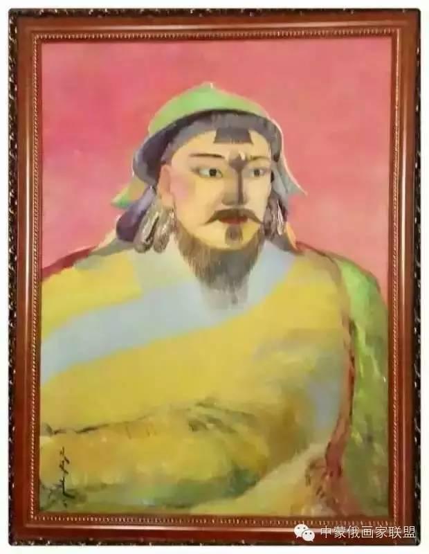 蒙古国油画大师-恩赫金、蒙赫金 第8张