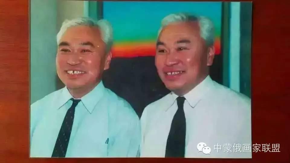 蒙古国油画大师-恩赫金、蒙赫金 第19张
