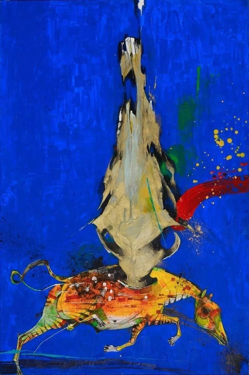 蒙古国著名画家刚巴特尔作品欣赏 ... 第2张