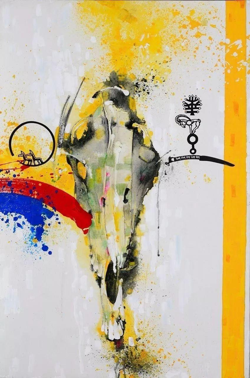 蒙古国著名画家刚巴特尔作品欣赏 ... 第4张