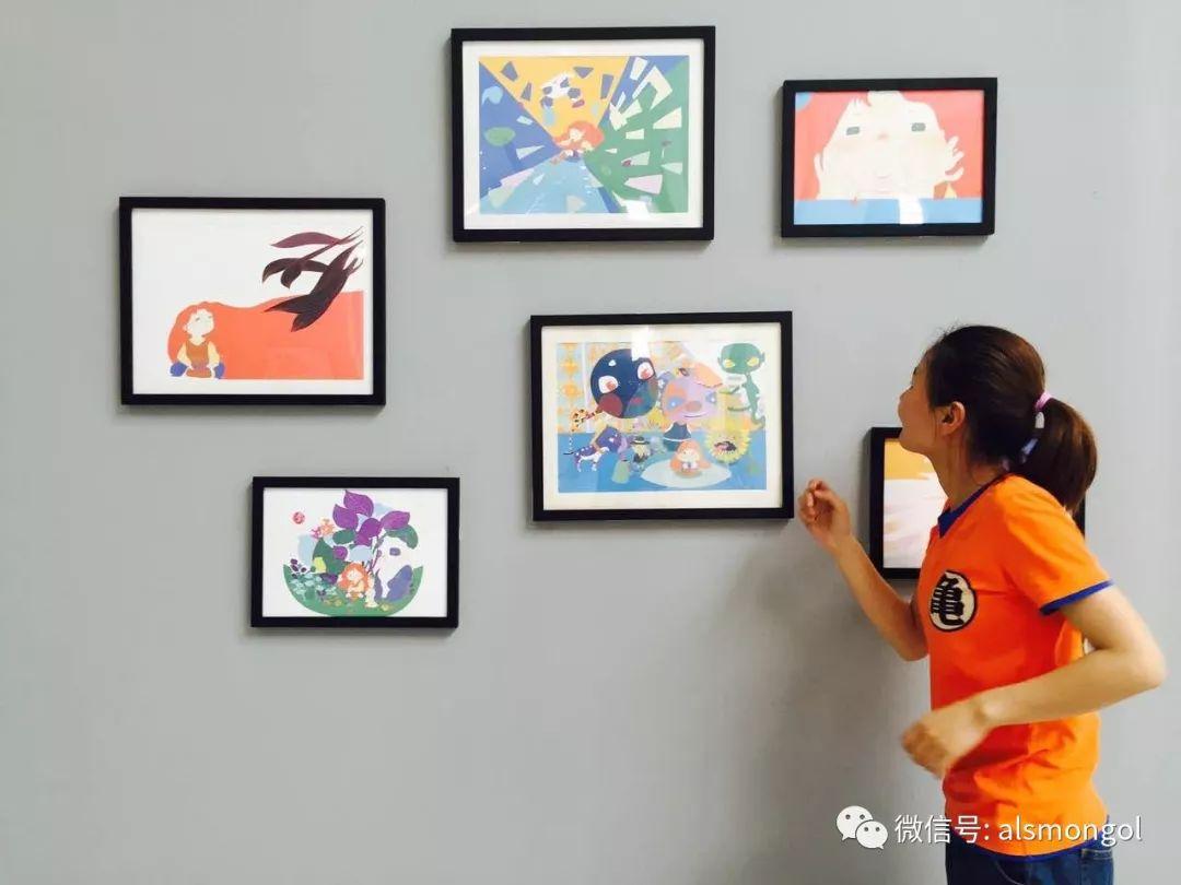 【智慧蒙古】人美画更美,年轻画家海乐和她的绘画作品! 第8张 【智慧蒙古】人美画更美,年轻画家海乐和她的绘画作品! 蒙古画廊