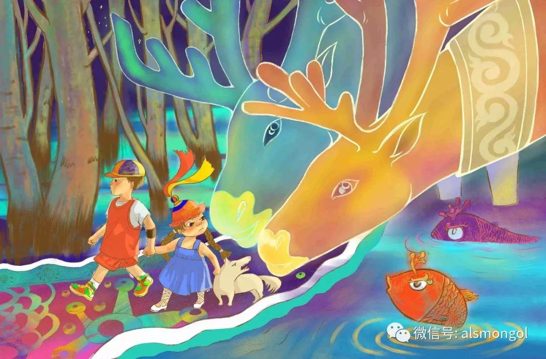 【智慧蒙古】人美画更美,年轻画家海乐和她的绘画作品! 第18张
