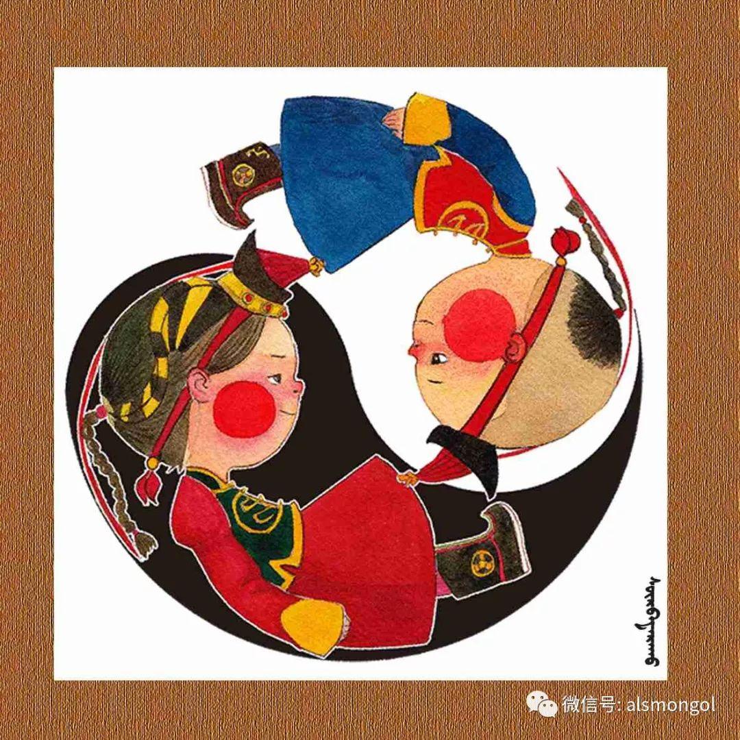 【智慧蒙古】人美画更美,年轻画家海乐和她的绘画作品! 第28张 【智慧蒙古】人美画更美,年轻画家海乐和她的绘画作品! 蒙古画廊