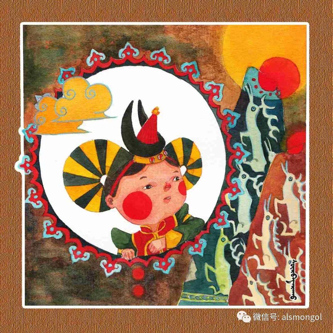 【智慧蒙古】人美画更美,年轻画家海乐和她的绘画作品! 第32张 【智慧蒙古】人美画更美,年轻画家海乐和她的绘画作品! 蒙古画廊