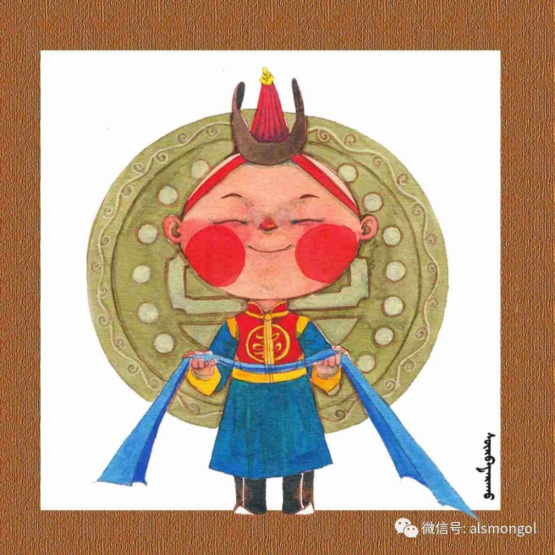 【智慧蒙古】人美画更美,年轻画家海乐和她的绘画作品! 第36张