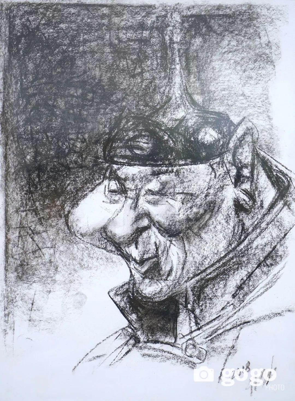 画家N·敖日格勒的这组蒙古名人画像很奇特(图片) 第6张
