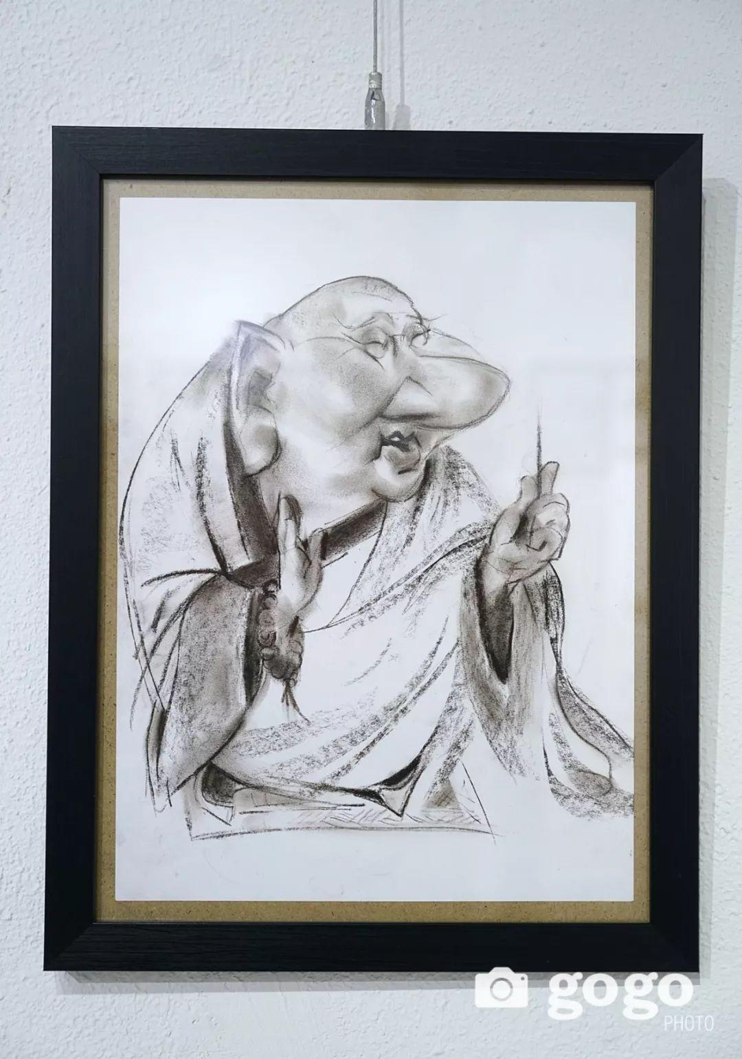 画家N·敖日格勒的这组蒙古名人画像很奇特(图片) 第16张
