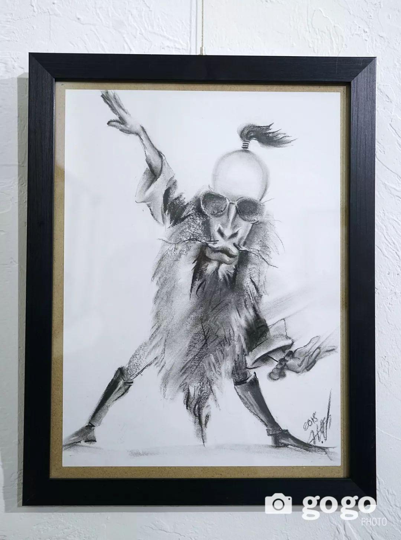 画家N·敖日格勒的这组蒙古名人画像很奇特(图片) 第22张