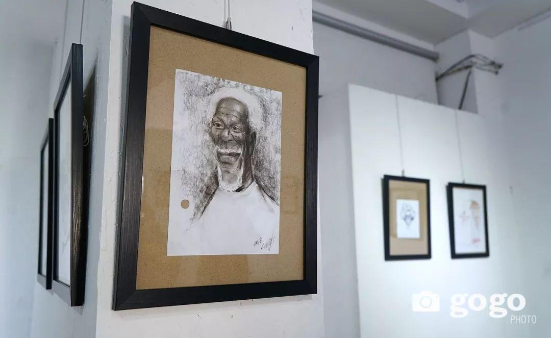 画家N·敖日格勒的这组蒙古名人画像很奇特(图片) 第33张
