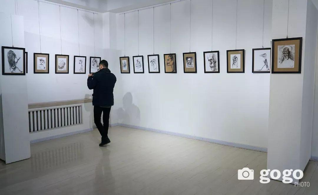 画家N·敖日格勒的这组蒙古名人画像很奇特(图片) 第35张
