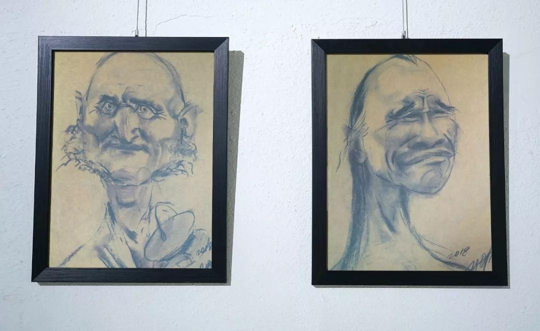 画家N·敖日格勒的这组蒙古名人画像很奇特(图片) 第50张