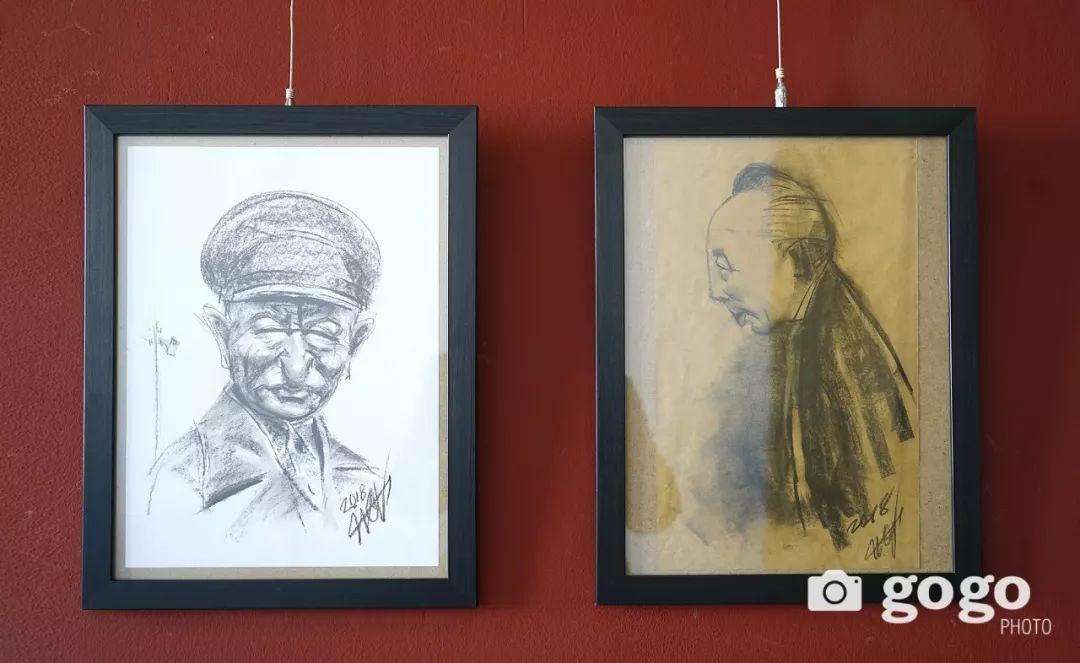 画家N·敖日格勒的这组蒙古名人画像很奇特(图片) 第52张