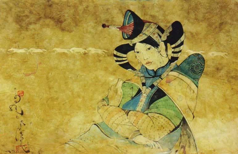 蒙古国画家作品欣赏 第1张 蒙古国画家作品欣赏 蒙古画廊