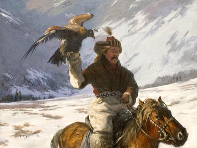蒙古国画家作品欣赏 第7张 蒙古国画家作品欣赏 蒙古画廊