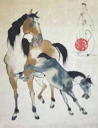 蒙古国画家作品欣赏 第3张 蒙古国画家作品欣赏 蒙古画廊