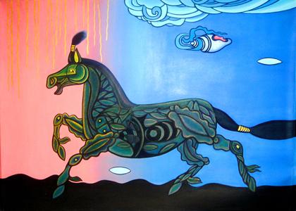 蒙古国画家作品欣赏 第8张 蒙古国画家作品欣赏 蒙古画廊