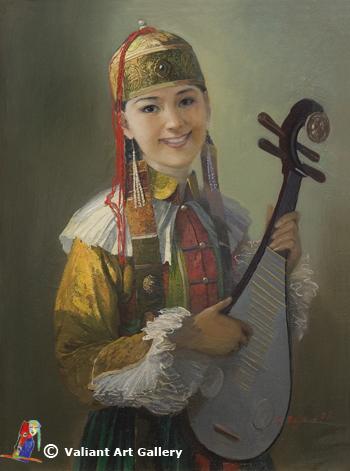 蒙古国画家作品欣赏 第18张 蒙古国画家作品欣赏 蒙古画廊