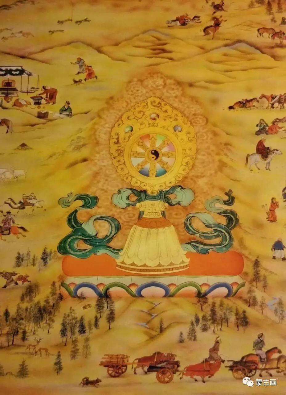 蒙古国画家-拉布嘎苏仁 第3张