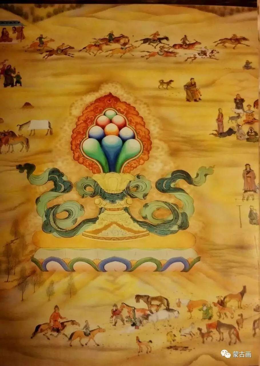 蒙古国画家-拉布嘎苏仁 第4张