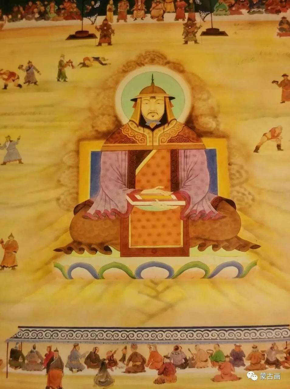 蒙古国画家-拉布嘎苏仁 第7张