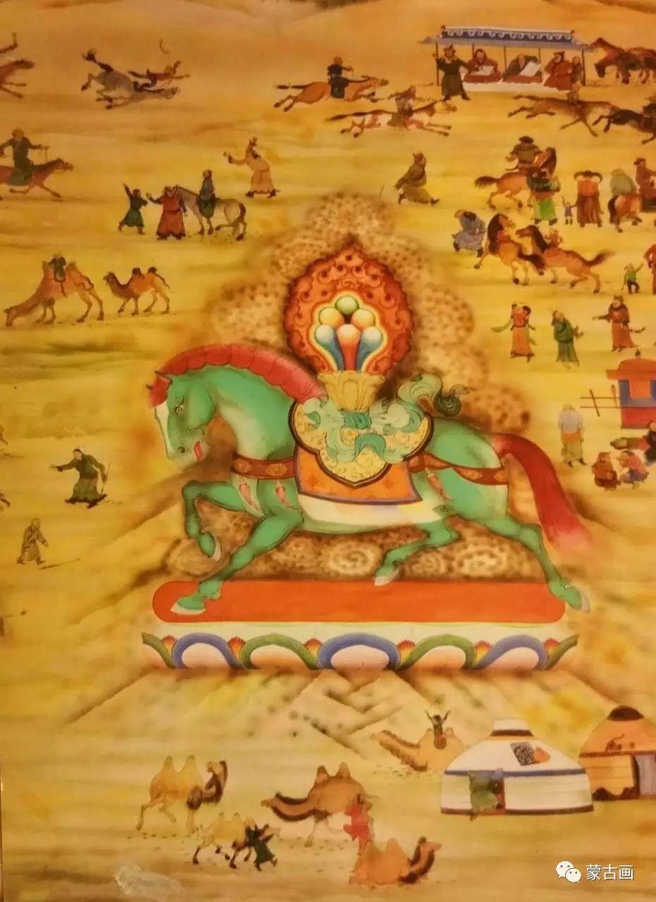 蒙古国画家-拉布嘎苏仁 第8张