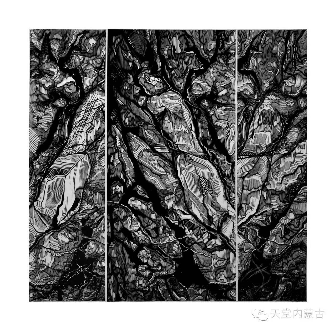 🔴内蒙古青年画家前德门作品 第8张 🔴内蒙古青年画家前德门作品 蒙古画廊