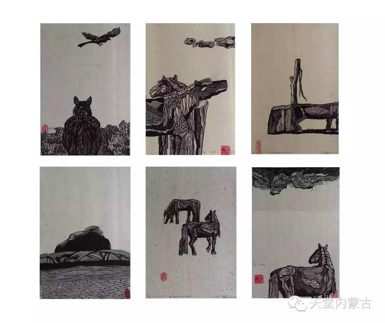 🔴内蒙古青年画家前德门作品 第12张 🔴内蒙古青年画家前德门作品 蒙古画廊