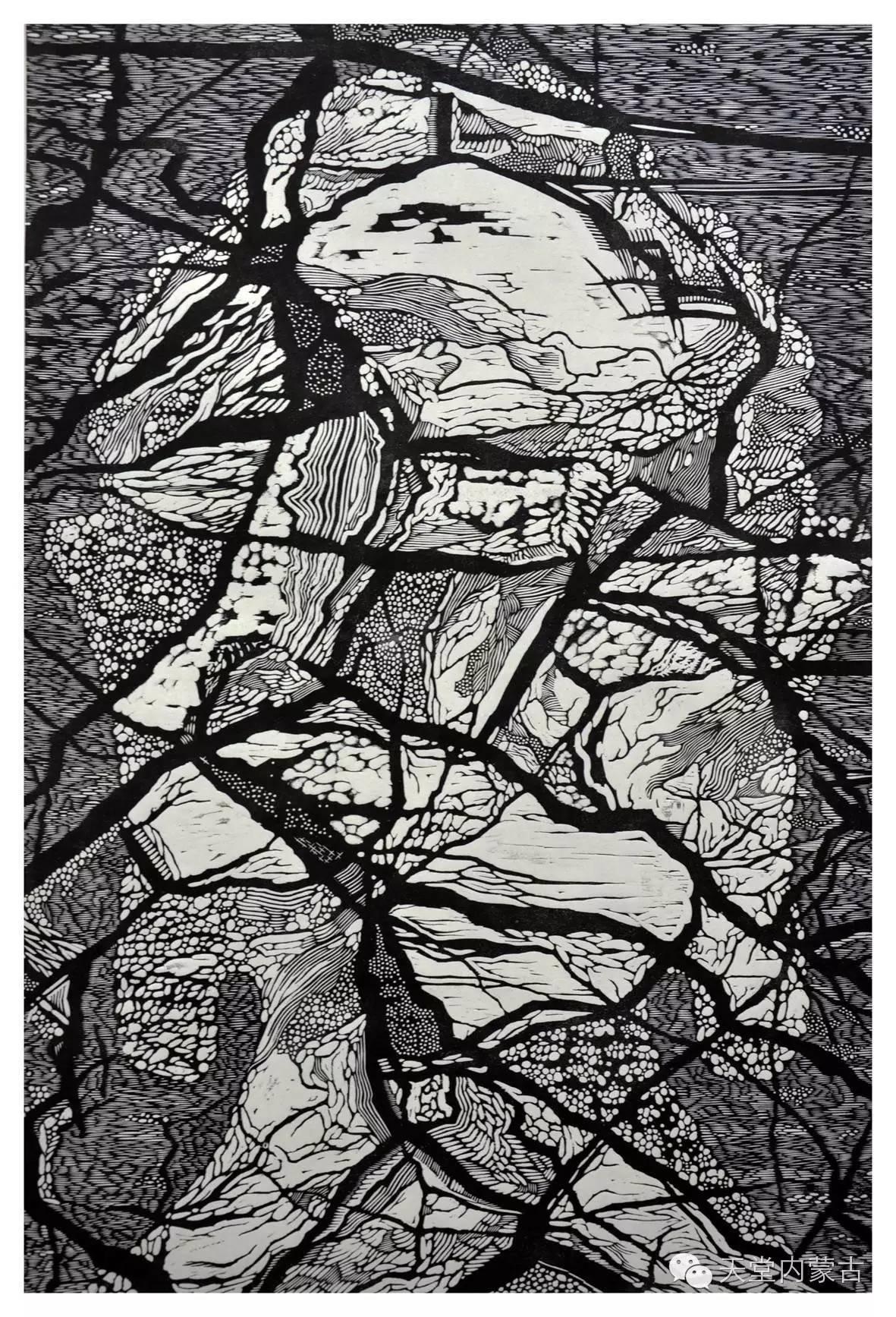 🔴内蒙古青年画家前德门作品 第10张 🔴内蒙古青年画家前德门作品 蒙古画廊
