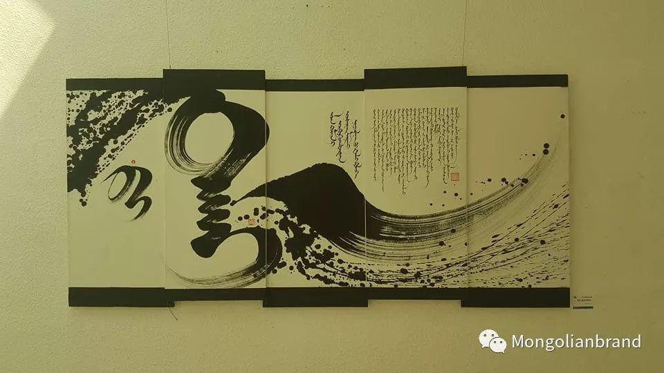 同样是竖体蒙古文,蒙古国的书法与我们不一样【组图】 第6张